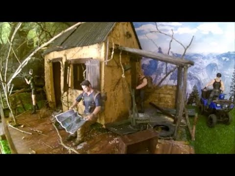 How to make a diorama of a ruin house without buying anything 1/10 scale tips and tricks