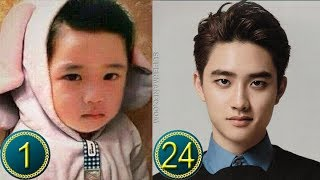 [EXO] Do Kyungsoo Predebut | Transformation from 1 to 24 Years Old