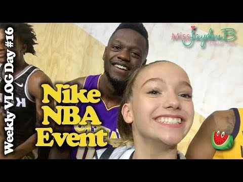 Nike NBA Event w/ Kevin Durant, Blake Griffin, Paul George! Weekly Vlog Day 16!