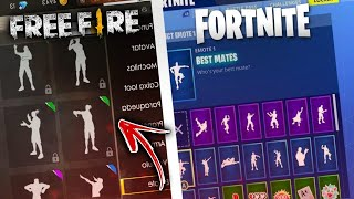 FREE FIRE IS COPYING FORTNITE??!!!