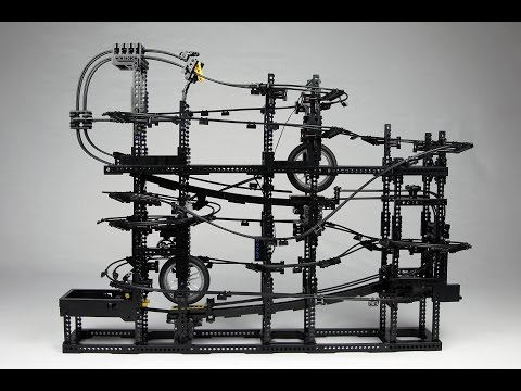 Akiyuki Marble Run to stand alone Lego GBC
