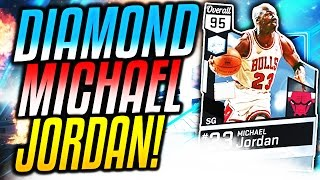 OMFG DIAMOND MICHAEL JORDAN! NBA 2K17 GAME BREAKER PACKS!