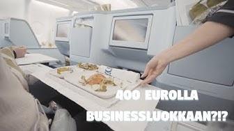 NÄIN PÄÄSET BUSINESSLUOKKAAN HALVALLA | Finnair A330 Business