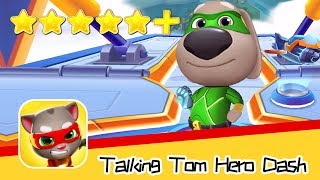 Talking Tom Hero Dash Run Game Day57  Walkthrough Dragonland Recommend index five stars+