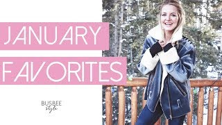 January Favorites   Skincare, Clothes, Bags & More!