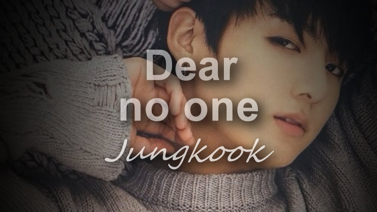 Download Jungkook Dear no one (cover) [lyrics]