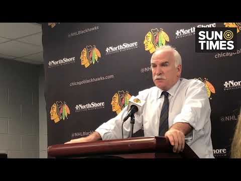 Joel Quenneville reacts to the Blackhawks latest loss   Chicago.SunTimes.com