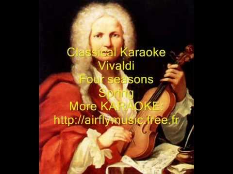 Spring Vivaldi Karaoke