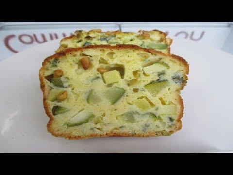 recette du cake la courgette et au fromage de ch vre frais commentfait ton youtube. Black Bedroom Furniture Sets. Home Design Ideas