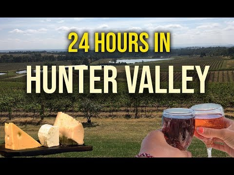 24 HOURS In HUNTER VALLEY |  GUIDE On THINGS TO DO In AUSTRALIA's Oldest WINE REGION