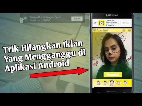 kali ini saya akan bagikan tips bagaimana cara menghilangkan iklan di semua aplikasi hp android, car.