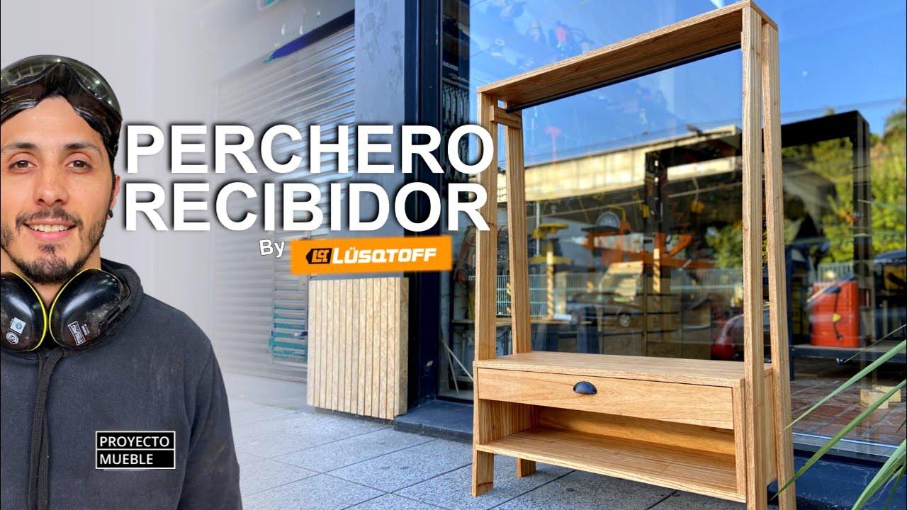 """MUEBLE RECIBIDOR """"PERCHERO"""" / PROYECTO MUEBLE (By Lusqtoff)"""