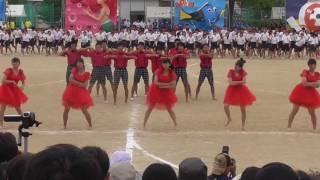徳山高校 体育祭 2016 赤組
