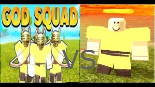 Ich. Vs. GOD FULL TRIBES! (PvP UNSTOPPABLE | Roblox Booga Booga.)