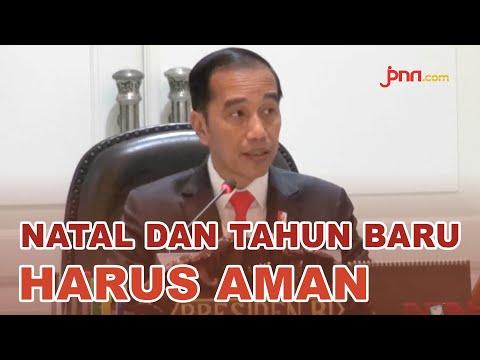 Instruksi Jokowi Jelang Natal dan Tahun Baru