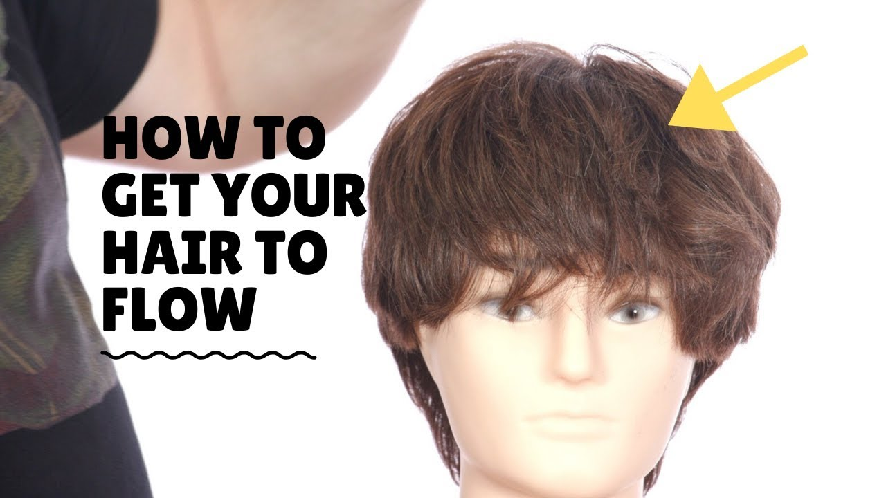 How To Get A Hair Flow Thesalonguy Youtube