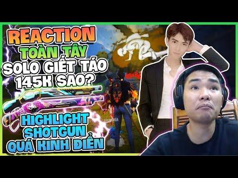 REACTION : TOÀN TÂY SOLO ONESHOT TÁO 145K SAO ? HIGHTLIGHT TOÀN TÂY MOBILE QUÁ KINH ĐIỂN !