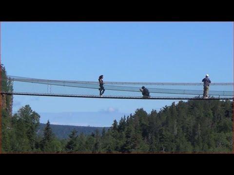 Thunder Bay tourist attractions - Eagle Canyon bridge, Thunder Bay, Ontario