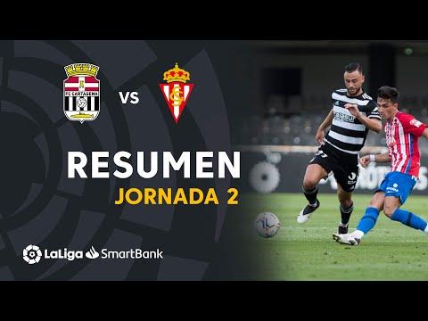 Cartagena Gijon Goals And Highlights