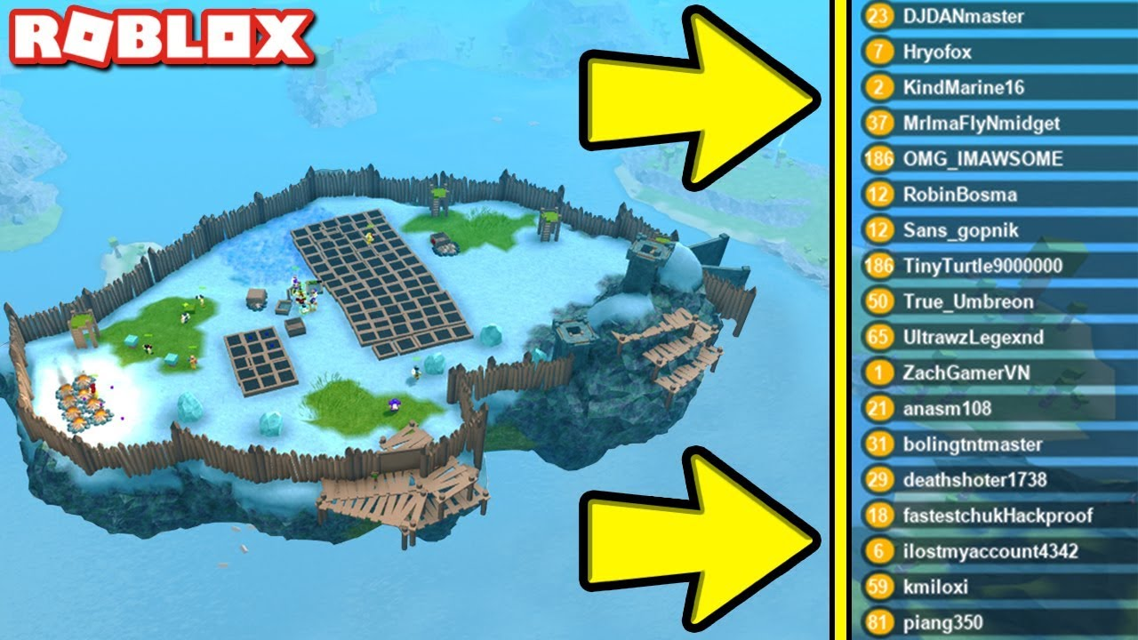 The New Roblox Survival Game Roblox Island 2 Roblox The Island 2 Survival Game Youtube
