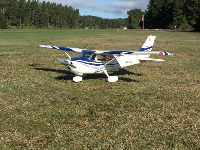 Top Flite Cessna Skylane Maiden 02 09 2020