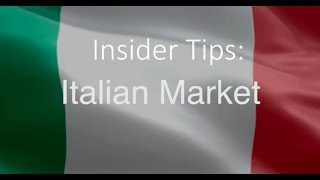 Insider Tips Italian Market | Niamh Kinsella from the Tourism Ireland Milan Office thumbnail