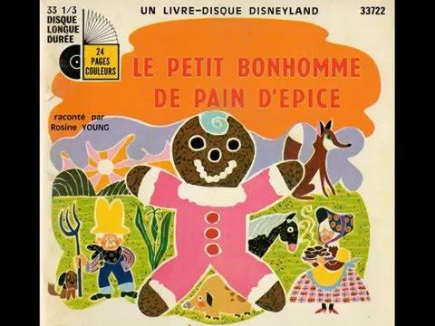 Le Petit Bonhomme En Pain D Epice Walt Disney Youtube
