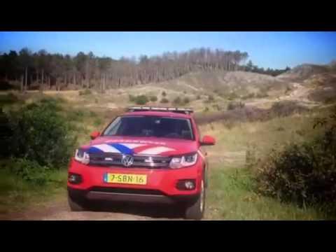 Rijtraining piketofficieren VW Tiguan 4x4