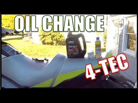 How To Change Oil For A Sea Doo GTI