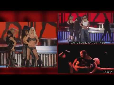 Britney Spears - Gimme More (VMA 2007) LIVE vs. Rehearsal [2015]