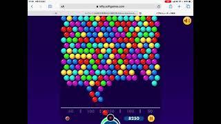 バブルシューターやってみた screenshot 2