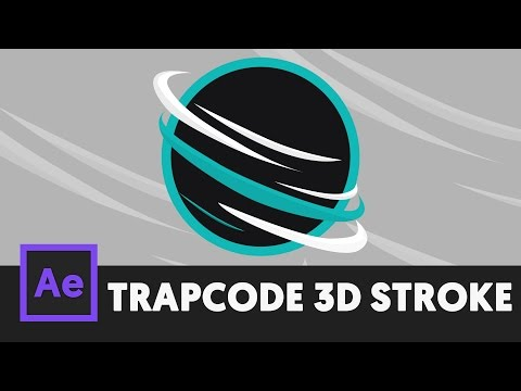 Trapcode Advanced 3D Stroke After Effects Tutorial - T059