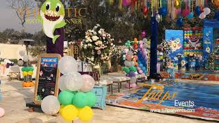 Baby Shark Theme Birthday Party Decoration Ideas In Pakistan Youtube