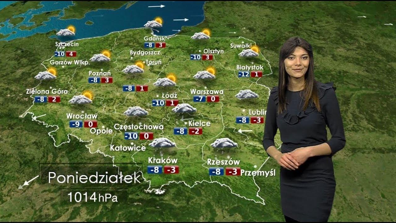 Prognoza pogody 19.03.2018