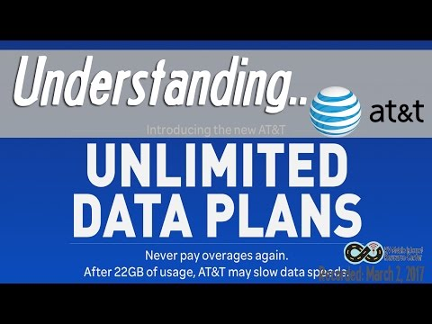 Understanding AT&T's New NEW Unlimited Data Plans
