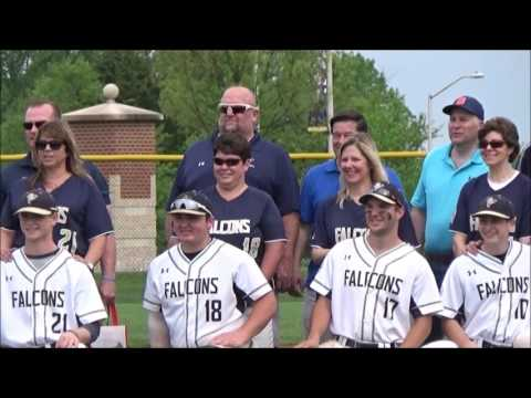 Paul VI Catholic HS vs Our Lady of Good Counsel HS, Senior Day 042917