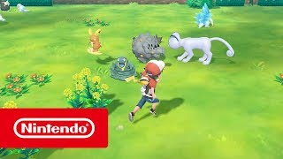 Pokemon Lets Go Eevee gameplay