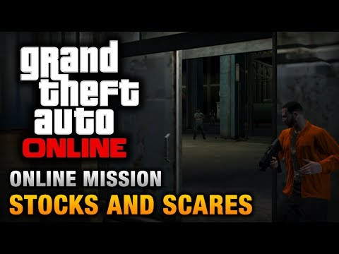 GTA Online - Mission - Stocks and Scares [Hard Difficulty]