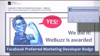 WeBuzz is going to release new apps