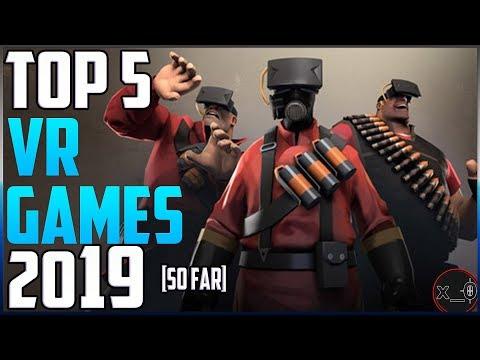 TOP 5 VR GAMES 2019!! | Best Virtual Reality Games So Far [Oculus Rift, HTC Vive, WMR]
