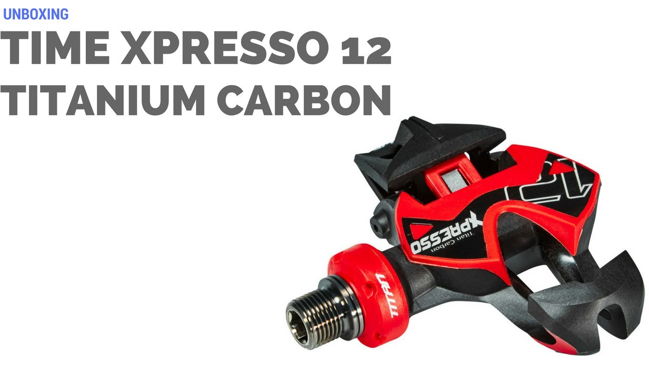 Time Xpresso-12 titan-carbon pedals