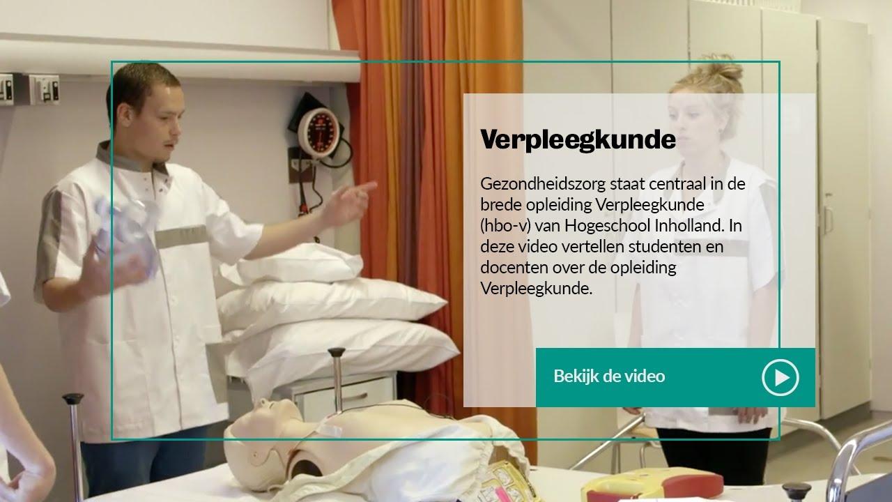 Inholland verpleegkunde hbo v studenten en docenten for Opleiding hovenier hbo