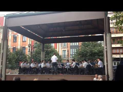 Concierto Banda de Música de Gijón en Begoña