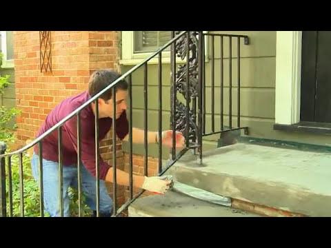 Resurfacing concrete steps youtube - Resurfacing exterior concrete stairs ...
