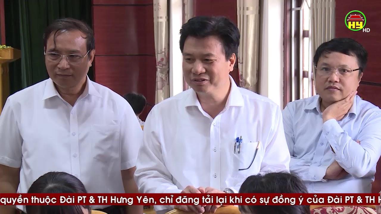 Thứ trưởng Bộ Giáo dục và Đào tạo làm việc với Hưng Yên