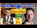【Decider】Ronnie O'Sullivan v Judd Trump ᴴᴰ SF [Coral Tour Championship 2019]【1080P】