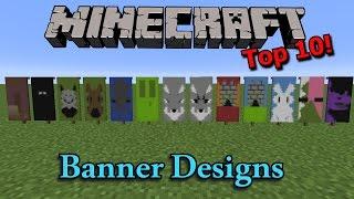 Minecraft: Top 10 Banner Designs