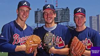 John Smoltz has the perfect World Series find on '25-Year-Old Baseball Cards'
