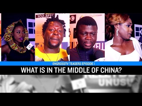 "Video: People Answer ""What's in The Middle of China?"" (Seyi Law, Klint D Drunk & more)"