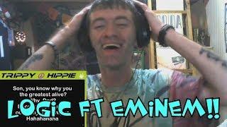Logic FT EMINEM! Homicide Reaction!